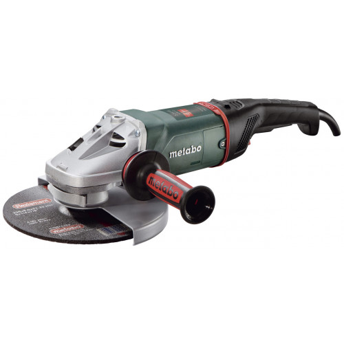 """W 22-230 MVT 110V,  2,200 W 9"""" Low Vibration Angle Grinder with Rotating Back Handle and Deadmans switch"""