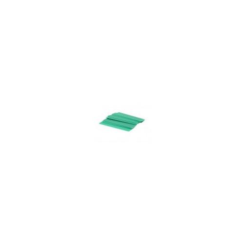 1mm x 28mm x 100mm Green Flat Packers