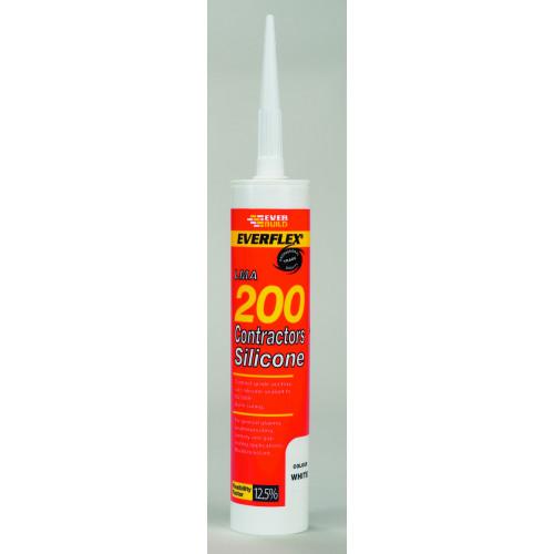 SILICONE 200 WHITE 295ML