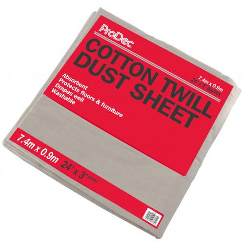 STAIRWAY COTTON DUST SHEET 24 X 3