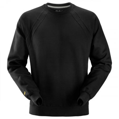 Heavy Sweatshirt Black Size: XS