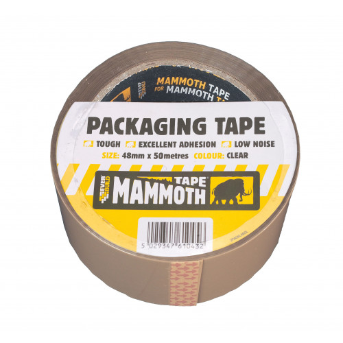 RETAIL/LABELLED PACK TAPE BN 48MM 50MTR