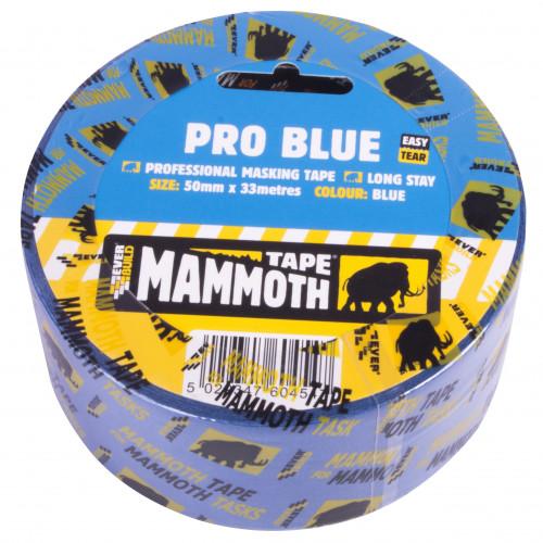 PRO BLUE MASKING TAPE 25MM 33MTR