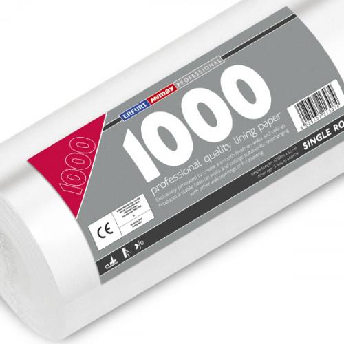 Professional Lining Paper 1000 Single