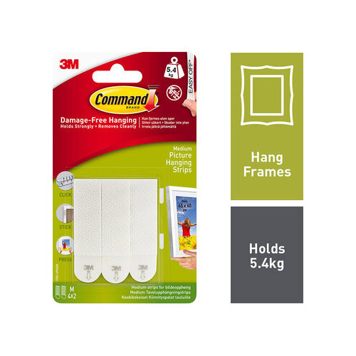 Command Medium Picture Strips 4 Pack