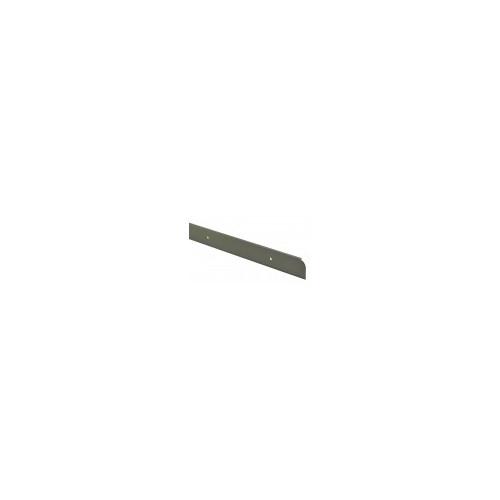 40mm Matt Silver End Worktop Section