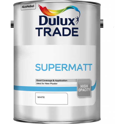 Dulux Trade SUPERMATT WHITE 5L