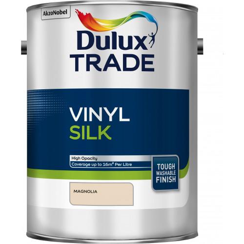 Dulux Trade Vinyl SILK MAGNOLIA 5L