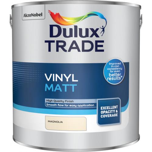 Dulux Trade Vinyl MATT MAGNOLIA 2.5L