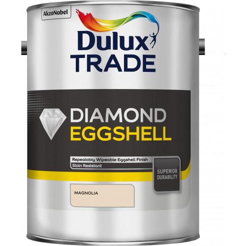 Dulux Trade DIAMOND Quick DRY EGGSHELL MAGNOLIA 5L