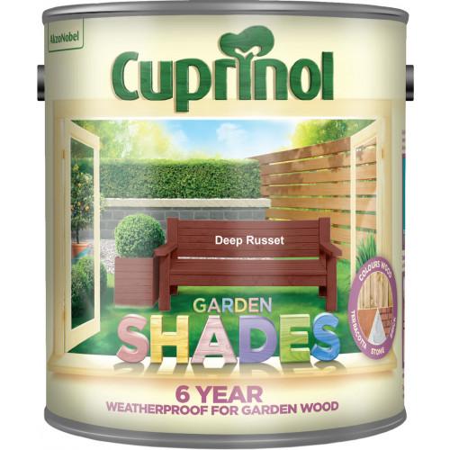 Cuprinol GARDEN SHADES DEEP RUSSET 2.5L