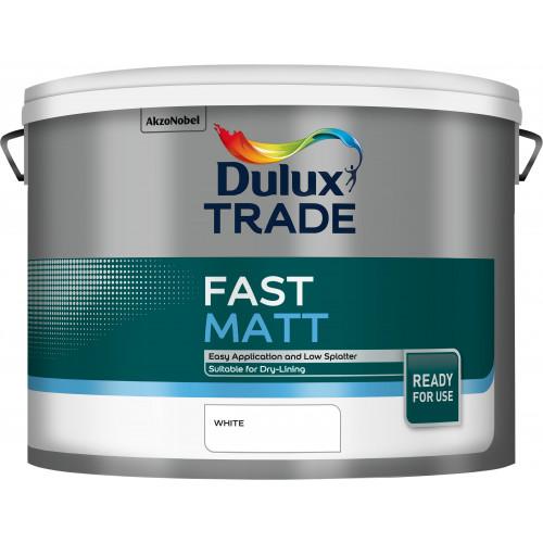 Dulux Trade FAST MATT WHITE 10L