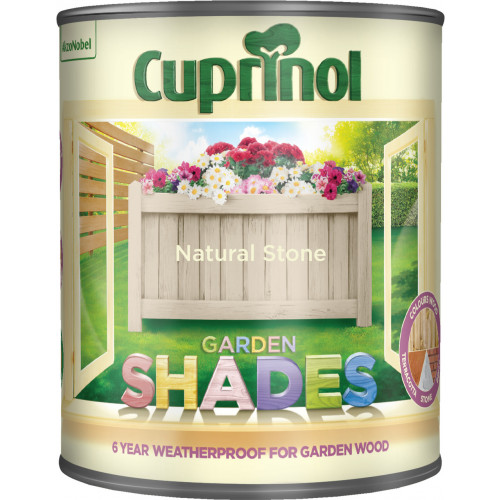 Cuprinol GARDEN SHADES NATURAL STONE 1L