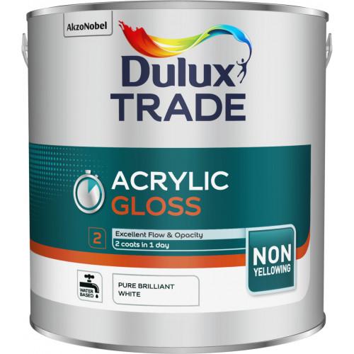Dulux Trade ECOSURE GLOSS PBW 2.5L