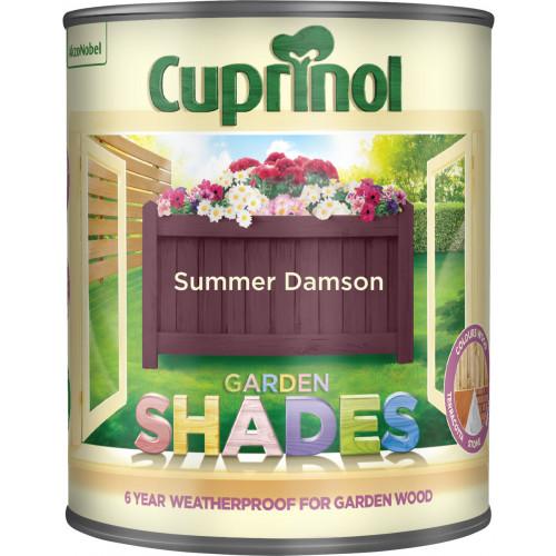 Cuprinol GARDEN SHADES SUMMER DAMSON 1L