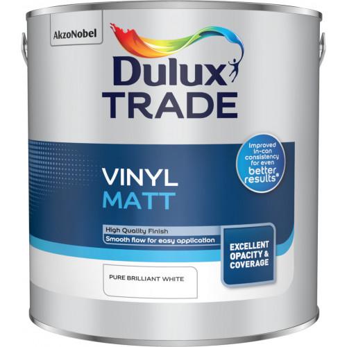 Dulux Trade Vinyl MATT PBW 2.5L