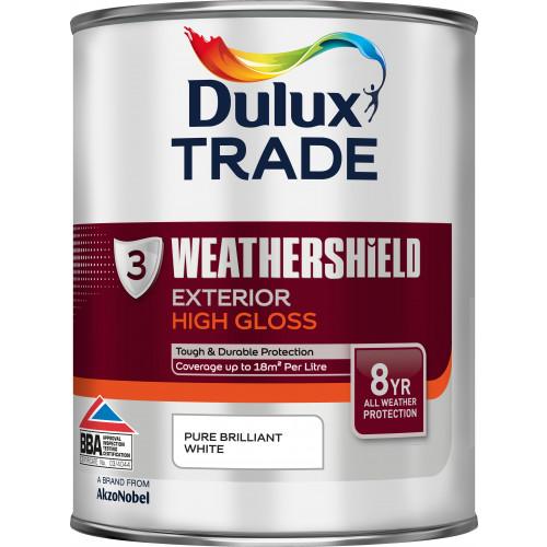 Dulux Trade WEATHERSHIELD GLOSS PBW 1L
