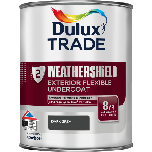 Dulux Trade WEATHERSHIELD UNDERCOAT DARK GREY 1L