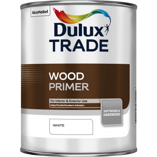 Dulux Trade WOOD PRIMER WHITE 1L