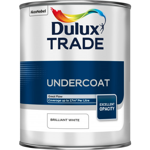 Dulux Trade UNDERCOAT B/WHITE 1L
