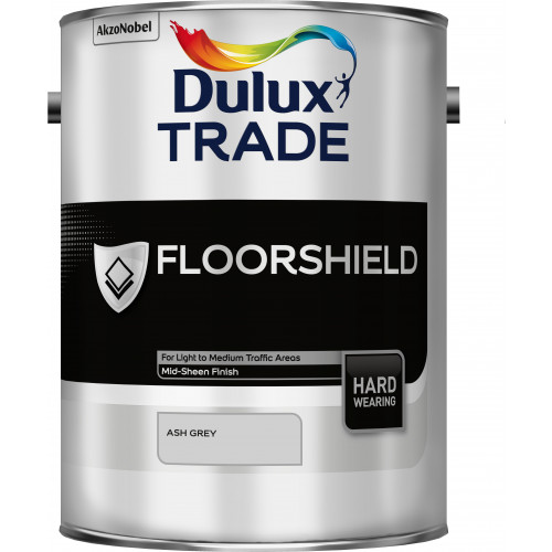 Dulux Trade FLOORSHIELD ASH GREY 5L