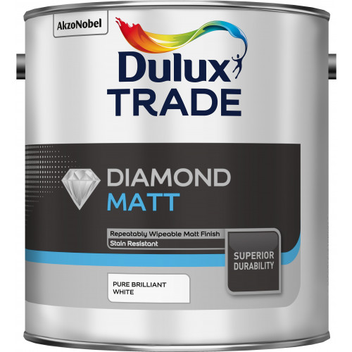 Dulux Trade DIAMOND MATT PBW 2.5L