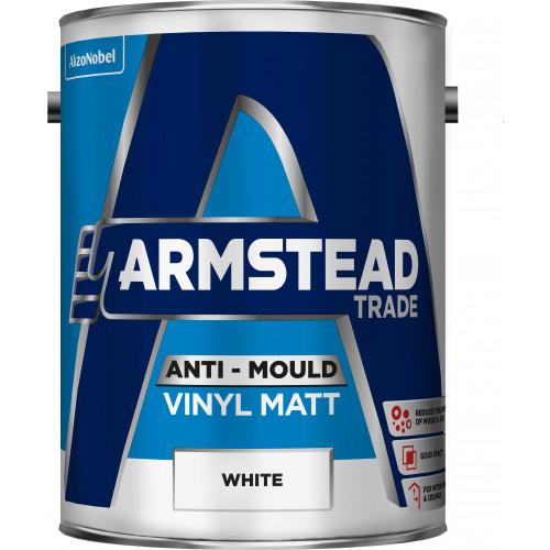 Armstead Trade ANTI-MOULD Vinyl MATT WHITE 5L