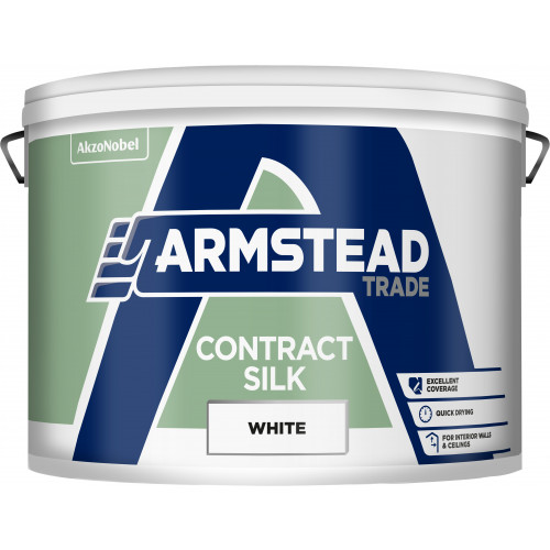 Armstead Trade CONTRACT SILK WHITE 10L