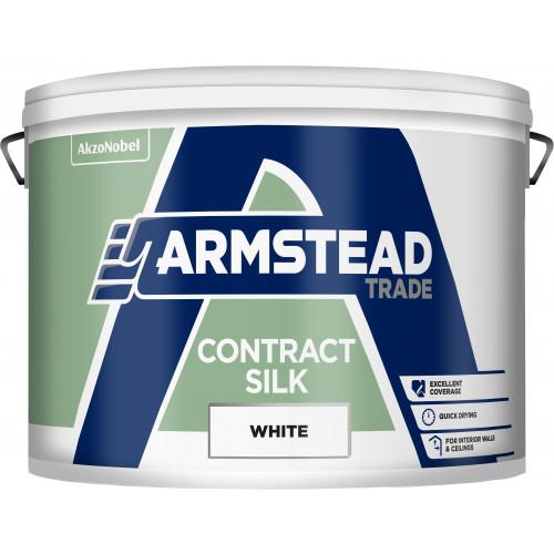 Armstead Trade CONTRACT SILK WHITE 10L