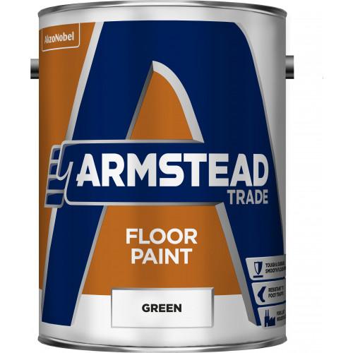 Armstead Trade FLOOR PAINT GREEN 5L