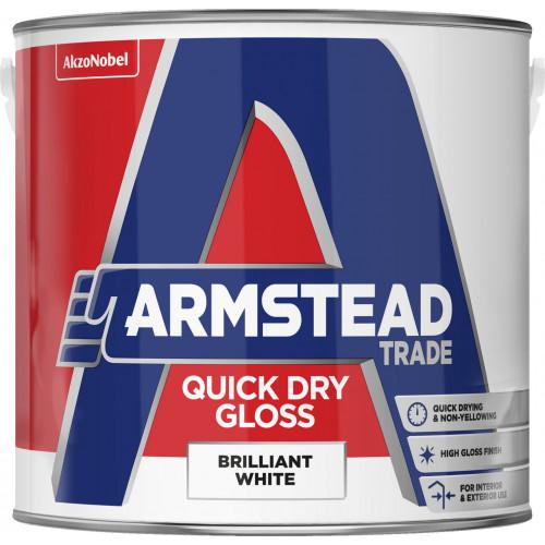 Armstead Trade ACRYLIC GLOSS B/WHITE 2.5L