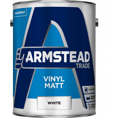 Armstead Trade Vinyl MATT WHITE 5L