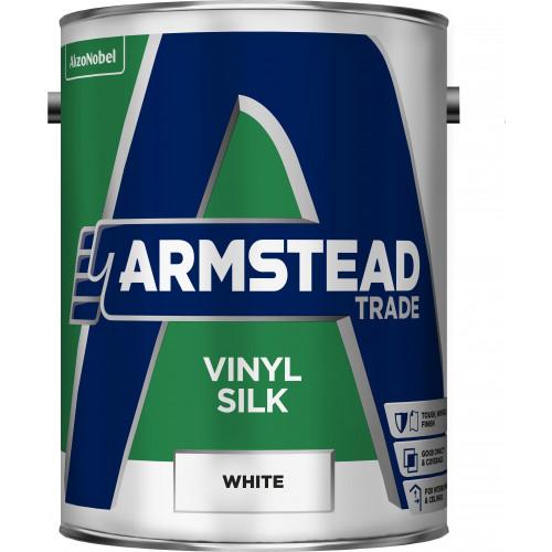 Armstead Trade Vinyl SILK WHITE 5L
