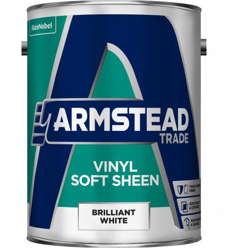 Armstead Trade Vinyl SOFT SHEEN B/WHITE 5L