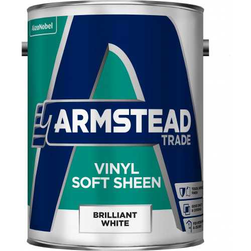 Armstead Trade Vinyl SOFT SHEEN B/WHITE 5L