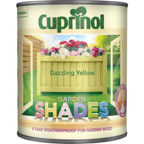 Cuprinol Garden Shades Dazzling Yellow