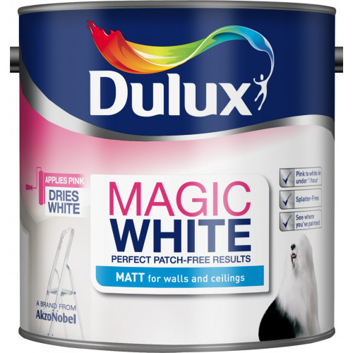 Dulux Retail MAGIC WHITE MATT PBW 2.5L