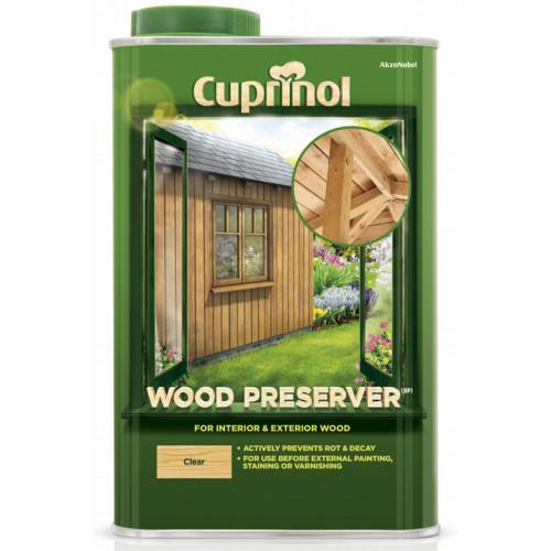 Cuprinol WOOD PRESERVER CLEAR 1L