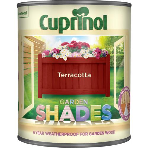 Cuprinol GARDEN SHADES TERRACOTTA 1L