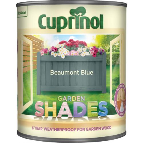 Cuprinol GARDEN SHADES BEAUMONT BLUE 1L