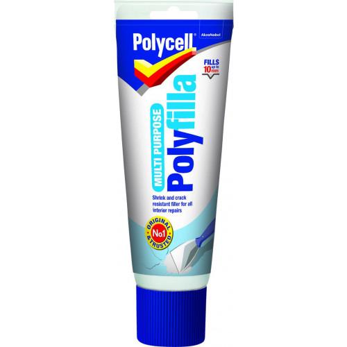 Polycell M/PURPOSE POLYFILLA TUBE 330GM