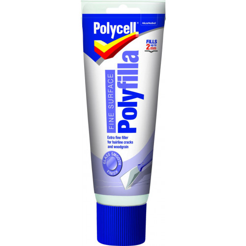 Polycell Fine Surface Polyfilla Tube
