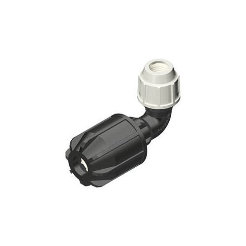 Plasson 25mm x 27 - 35mm Universal Coupler Elbow