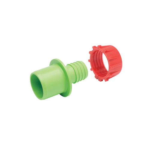 "Plasson 50mm x 11/4"" Class D Adaptor (Light Green)"