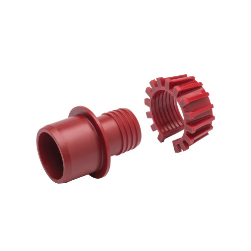 "Plasson 63mm x 2"" Normal Gauge Adaptor (Red)"