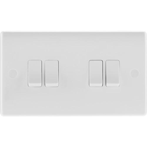 Light Switch 4 gang 2 way