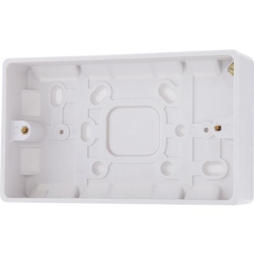 Surface Box Twin Socket