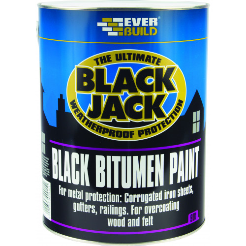 901 BLACK BITUMEN PAINT 1L