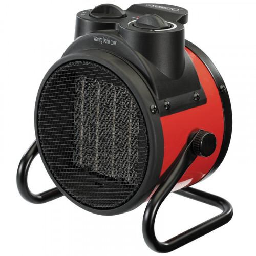 Draper PTC Ceramic Space Heater (6,800 BTU 2Kw)