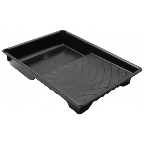 BLACK PLASTIC ROLLER TRAYS 225mm - 9""